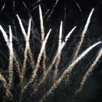 buntes Lichter-Feuerwerk