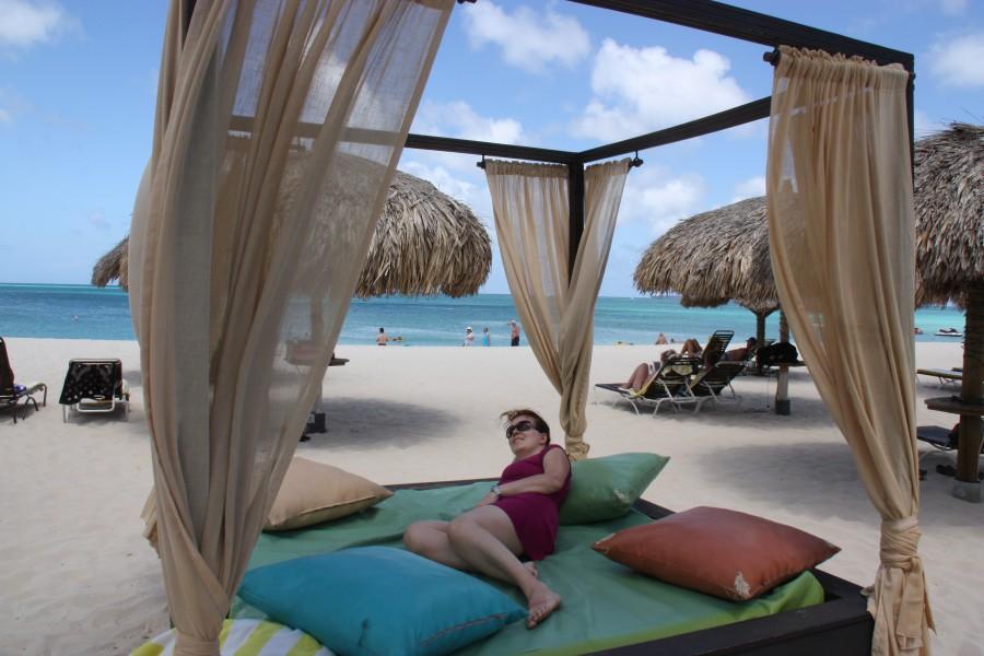 Relaxen am Eagle Beach