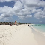 Traumstrand Eagle Beach auf Aruba