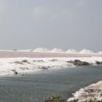 Salzberge auf Bonaire