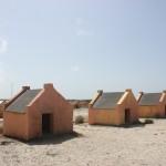 Hütten der Sklavenarbeiter auf Bonaire