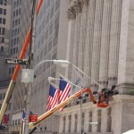Börse in der Wall Street New York