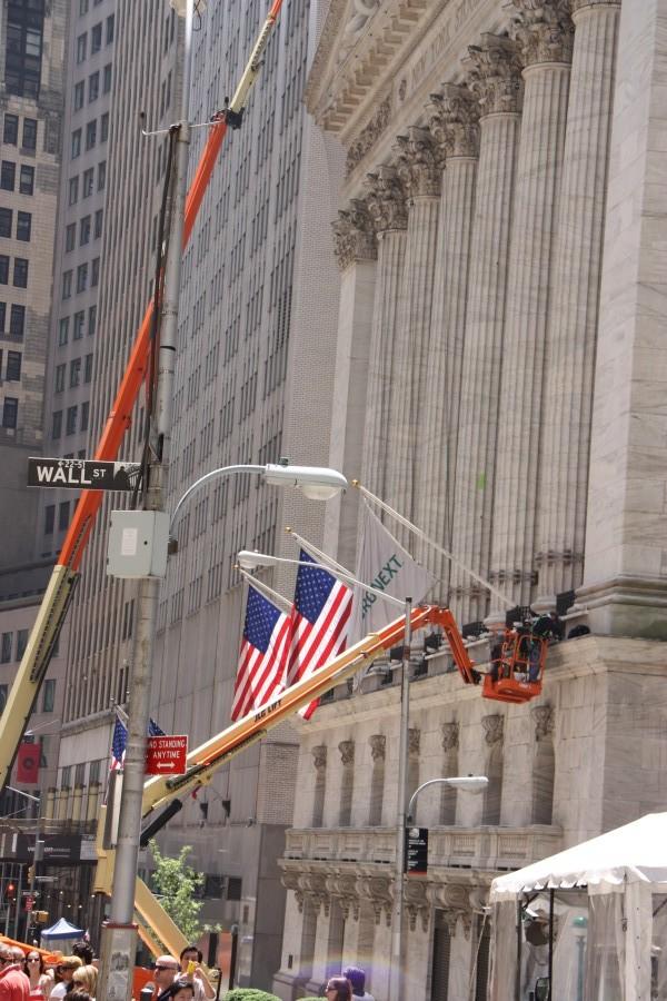 Börse in der Wall Street New York