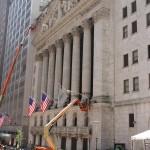 Gebäude der NYSE in der Wall Street