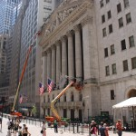 New York Stock Exchange an der Wall Street