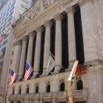 Fassade der New York Stock Exchange