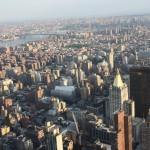 Häusermeer vor dem Empire State Building