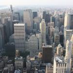 Hochhäuser vom Empire State Building aus
