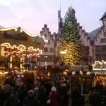 Stimmung auf dem Frankfurter Weihnachtsmarkt