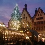 Weihnachtsbaum auf dem Frankfurter Weihnachtsmarkt