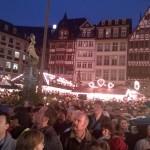 Treiben auf dem Frankfurter Weihnachtsmarkt