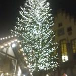 Weihnachtsbaum auf dem Frankfurter Römer