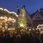 Trubel auf dem Frankfurter Weihnachtsmarkt