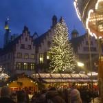 Weihnachtsbaum auf dem Römerberg