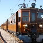 Historischer Zug von Sóller nach Palma