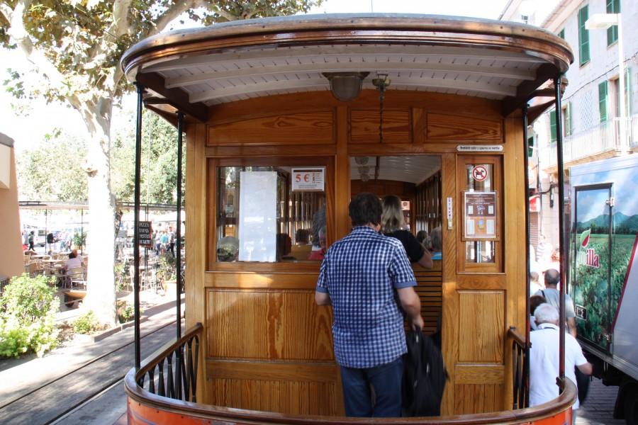 Straßenbahn Tramvia de Sóller
