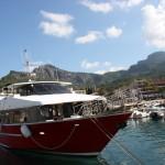 Ausflugsschiff nach Sa Calobra