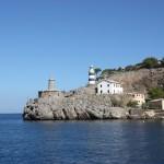 Fahrt aus dem Hafen von Port de Sóller