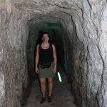 enger Tunnel zum Torrent de Pareis