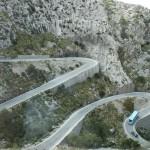 Pass auf dem Weg nach Sa Calobra
