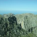 Berge des Torrent de Pareis bei Sa Calobra