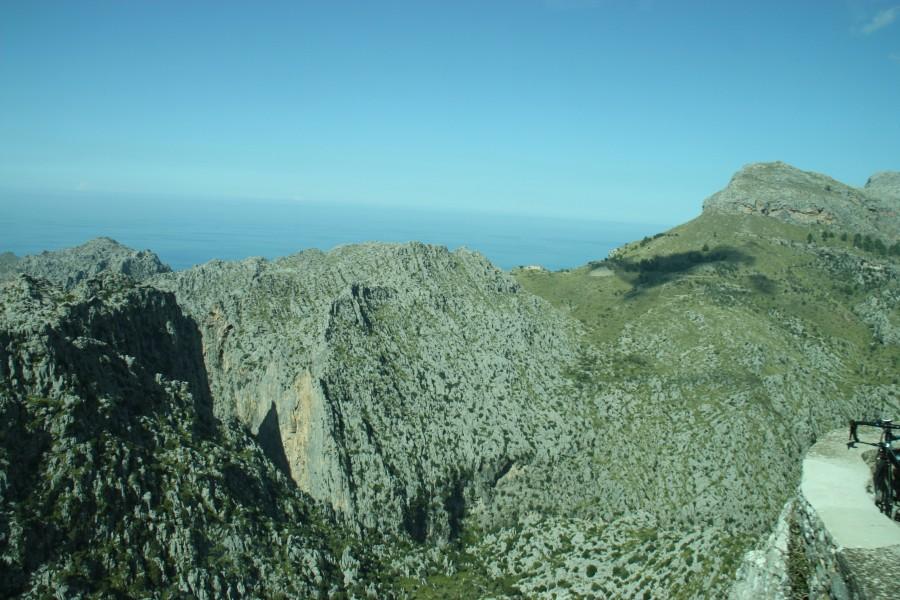 Blick auf den Torrent de Pareis bei Sa Calobra