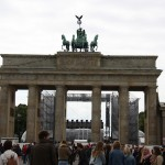 Feier am Brandenburger Tor