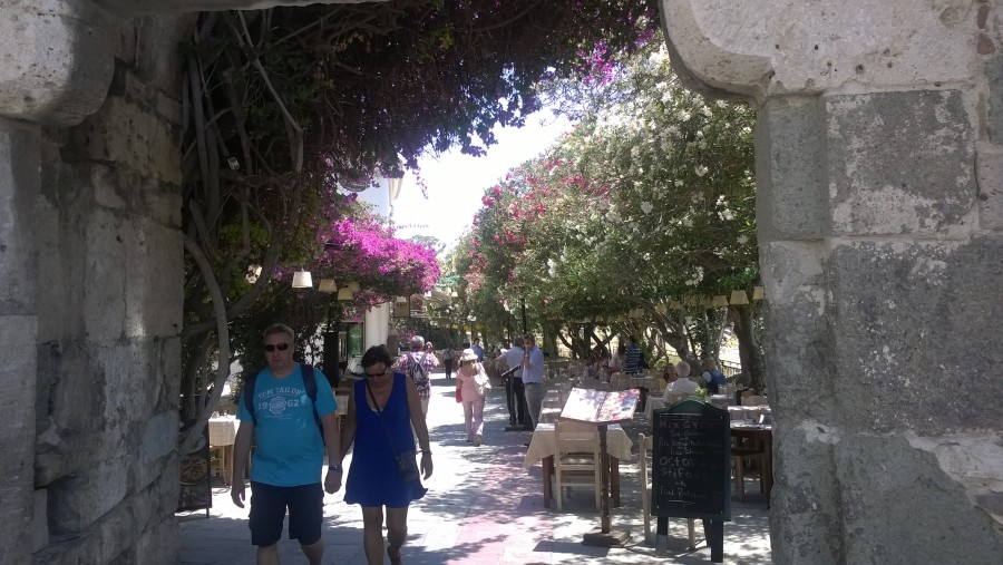 Kos-Stadt in Griechenland