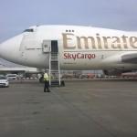 Boeing 747 Cargo von Emirates