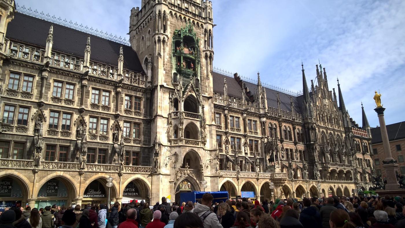 Marienplatz München 2015