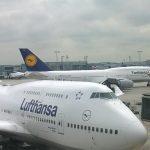 Lufthansa-Sondermaschine zur Fußball WM 2014