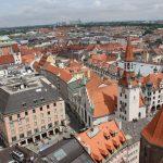 Blick auf das alte Rathaus München