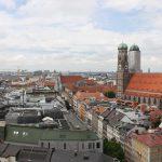 München von oben mit Frauenkirche