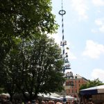 Viktualienmarkt und Maibaum