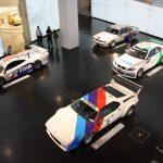 Rennwagen im BMW Museum