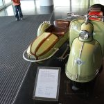 Goggo Roller mit Beiwagen