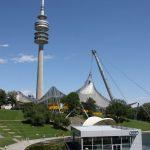 Olympiastadion und Olympiaturm München