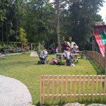 Picknick-Wiese im Freizeitpark Traumland