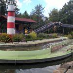 Wildwasserbahn im Freizeitpark Traumland