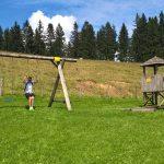 Spielplatz bei der Siedelalpe