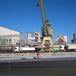 Schiffsanlegestelle Industriepark Höchst