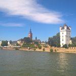 Blick auf Eltville vom Rhein