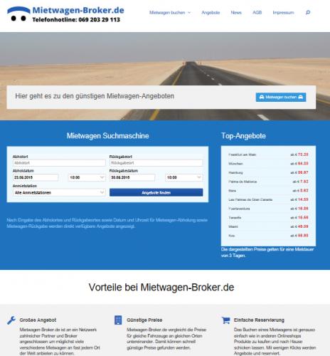 Mietwagen-Preisvergleich von Mietwagen-Broker.de