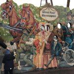 Fotowand am Riesenradplatz im Volksprater Wien