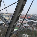 Stahlkonstruktion des Wiener Riesenrades