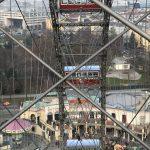 Riesenradplatz durch das Wiener Riesenrad gesehen
