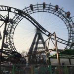 Achterbahn vor Wiener Riesenrad