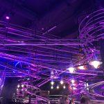 Schienensystem im Rollercoaster Restaurant Wien Prater