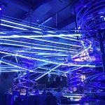 Lichtershow im Erlebnisrestaurant Rollercoaster