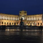 Hofburg Wien am Abend